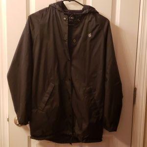 Obey lightweight hooded jacket